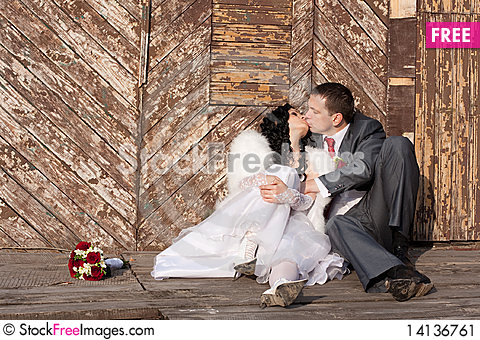 Free Bride And Groom Stock Image - 14136761