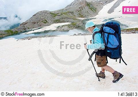 Free Hiker Stock Photos - 14136813