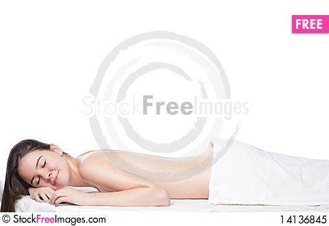 Free Young Beautiful Woman Royalty Free Stock Photo - 14136845