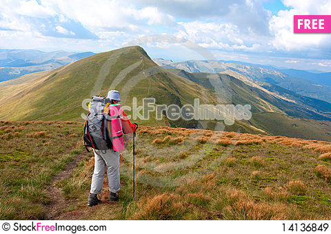 Free Hiking Royalty Free Stock Images - 14136849
