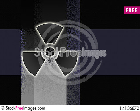 Free Radioactive Background Stock Photography - 14136872