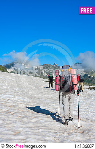 Free Hiker Royalty Free Stock Photography - 14136887