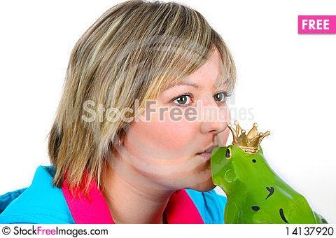 Free Frog Prince Stock Photo - 14137920