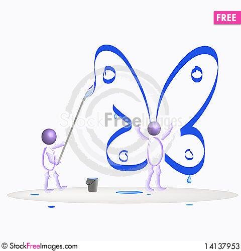 Free Be Free. Stock Photos - 14137953