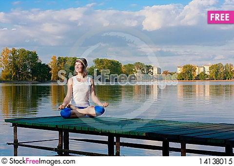 Free Yoga Royalty Free Stock Photo - 14138015