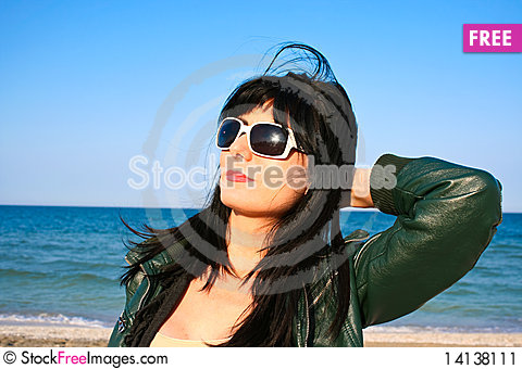 Free On The Beach Stock Image - 14138111