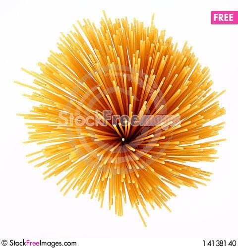 Free Raw Spaghetti Stock Photo - 14138140