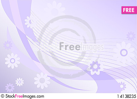 Free Lilac Abstraction Royalty Free Stock Photo - 14138235
