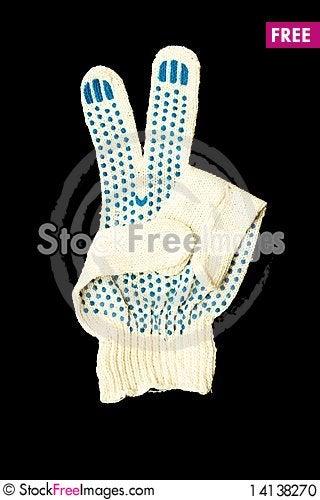 Free Work  Gloves Stock Photo - 14138270