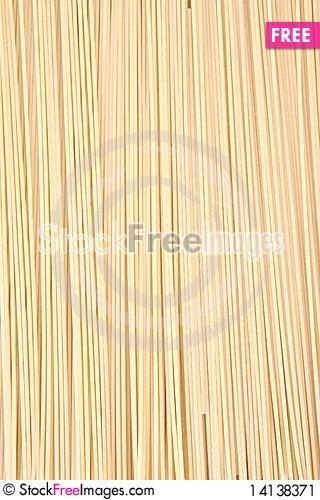 Free Raw Spaghetti Stock Image - 14138371