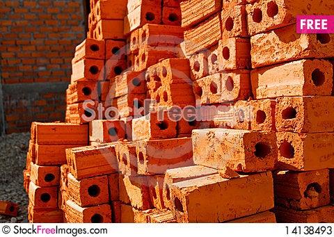 Free Orange Brick Stock Photos - 14138493