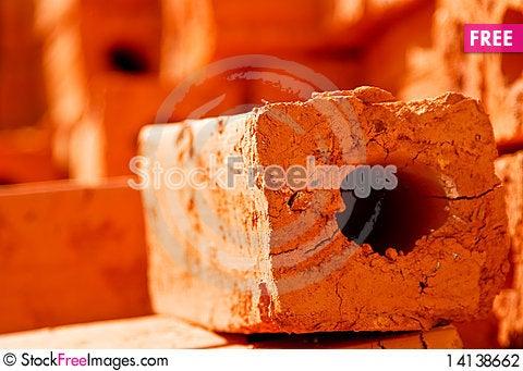 Free Orange Brick Stock Photography - 14138662