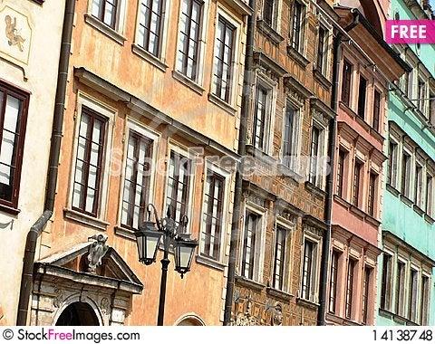 Free Warsaw, Poland Old Town Royalty Free Stock Photos - 14138748