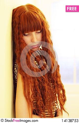 Free Dreaming Girl Stock Photos - 14138753