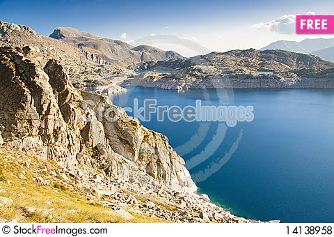 Free Colomina Lake - Aiguestortes Park, Spain Royalty Free Stock Photos - 14138958
