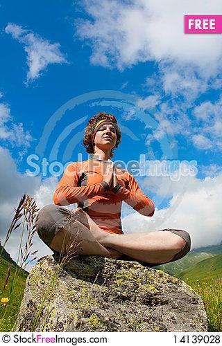 Free Yoga Royalty Free Stock Photos - 14139028