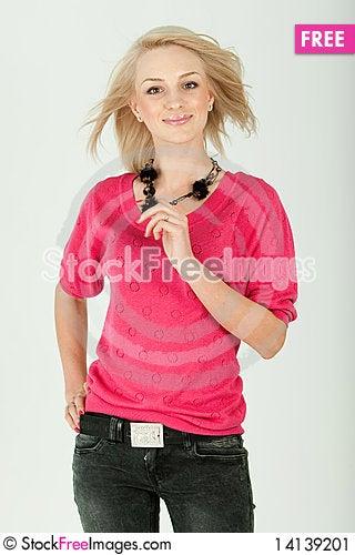 Free Beautiful Woman Stock Image - 14139201