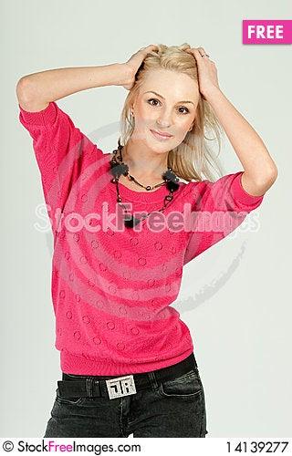 Free Beautiful Woman Royalty Free Stock Photography - 14139277