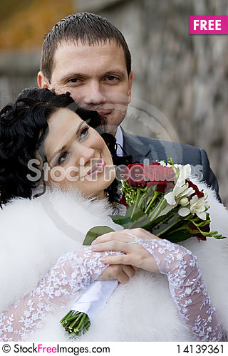 Free Bride And Groom Stock Image - 14139361
