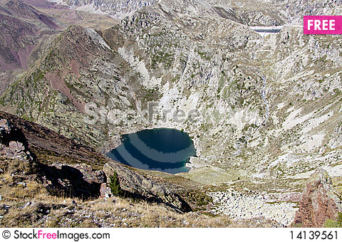 Free Two Lake In Aiguestortes Park. Stock Image - 14139561