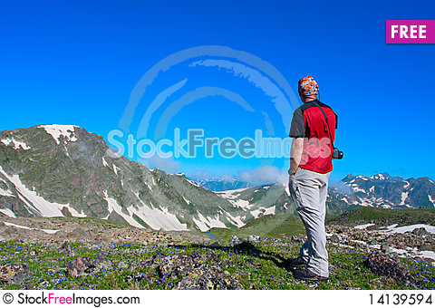 Free Hiker Stock Images - 14139594