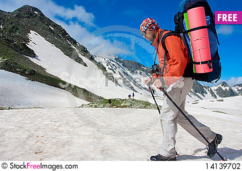 Free Hiker Stock Photography - 14139702