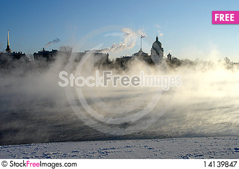 Free Cooling Down City Royalty Free Stock Photography - 14139847