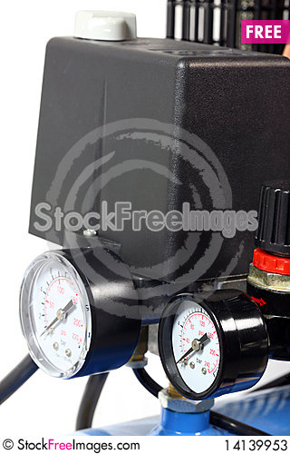 Free Part Of Compressor. Stock Photos - 14139953