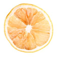 Dried Orange Royalty Free Stock Image