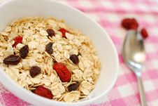 Nutritious Oatmeal Stock Images