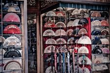 Hand Fan Royalty Free Stock Photography