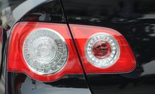 Taillight Royalty Free Stock Photography