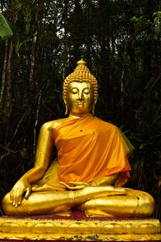 Free Lord Buddha Stock Photography - 14130772