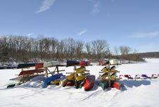 Free Canoes Stock Photo - 14131060