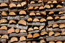 Free Pile Of Wood Stock Photo - 14131220