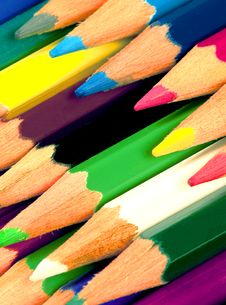 Free Colored Pencils Stock Images - 14131414