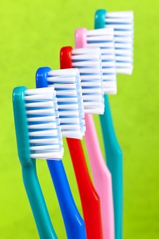 Free Toothbrushes Royalty Free Stock Photography - 14131847