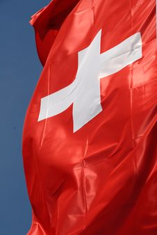 Free Swiss Flag Stock Photography - 14132162
