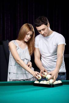The Attractive Couple Stock Photos