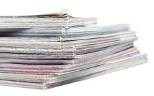 Free A Stack Of Magazines Royalty Free Stock Images - 14132469