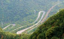 The Winding Mountain Road Bend