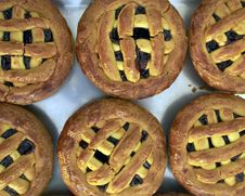 Free Pie With Cherry Jam Stock Photo - 14133440