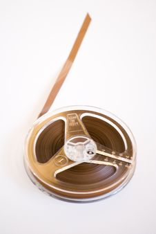 Free Old Audio Reel Tape Stock Photo - 14133780