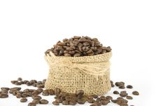 Free Coffee Beans Royalty Free Stock Images - 14134209