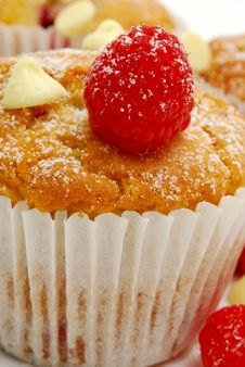 Free Close Up Of Berry Muffin Stock Photography - 14134702