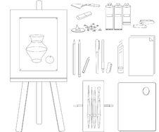 Free Attributes Of Artist Stock Photo - 14134820