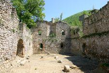 Manasija Castle Royalty Free Stock Photography