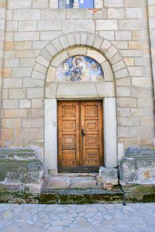 Serbian Orthodox Monastery Door