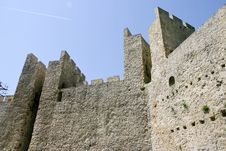 Manasija Castle Stock Photography