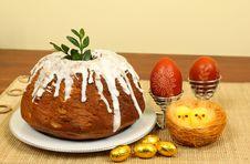Polish Easter Cake Stock Images